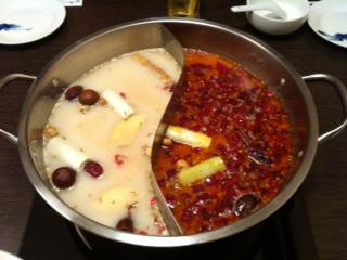 火鍋、小肥羊(しゃおふぇいやん)