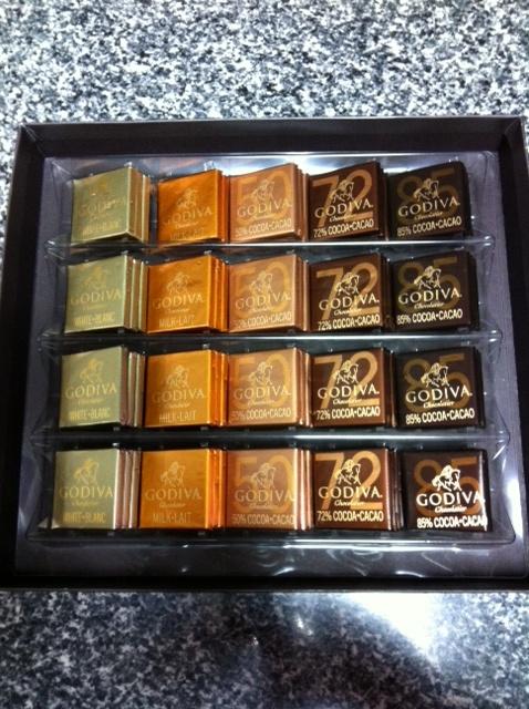 【チョコレート】ゴディバ